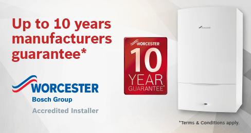 worcester boiler guarantee