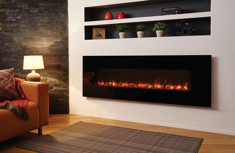 Winchester modern fireplace