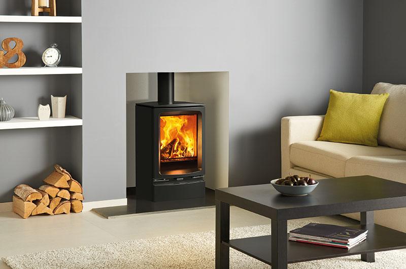 modern winchester fireplace